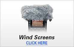 Tascam Wind Screens