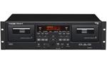 Tascam 202mkv Dual Cassette Recorder/player